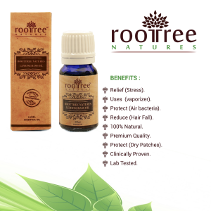 Roottree Natures Lemongrass Essential Oil